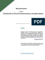 Introducción Macroeconomía