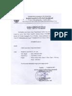 Surat tugas latsar CPNS 2019