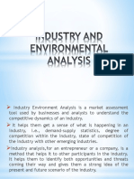 Industry and Environmental Analysis (3)