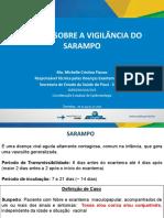 OFICINA VIGILÂNCIA DO SARAMPO