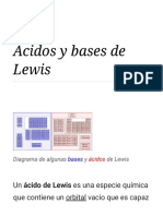 Ácidos y Bases de Lewis - Wikipedia, La Enciclopedia Libre
