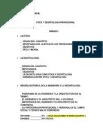 Clases Completas de Etica y Deontologia 2019-II