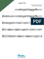 Agnus Dei Trompete Sib