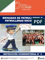 Brigadas de Patrulleros y Patrulleras Escolar Sector
