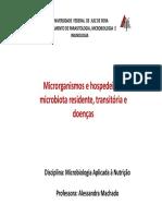 Microorganisms e hospedeiros