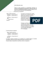 Estructuras Básicas de Decisión Case