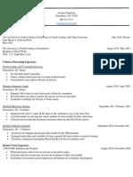 jocelyn chadwicks msw resume 11419