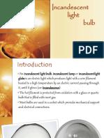 Incandescent Lamp Slide Share