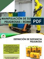 Manipulacion de Sustancias Peligrosas - Rombo NFPA