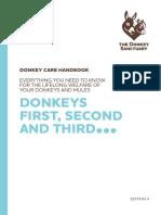 Donkey Care Handbook