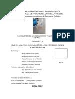 4to informe de analisis quimico