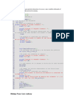 Programa, dirección de memoria c++