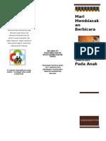 Leaflet Komunikasi Anak Fix