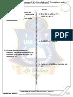 Examen Mensual ARITMETICA E