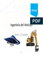 Ing. del vehiculo