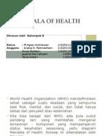 Ppt Mandala of Health
