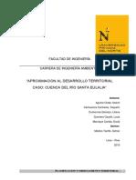 Ordenamiento territorial- Cuenca de Santa Eulalia