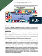 Lectura N°08- PERFIL PROFESIONAL-2019