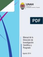 Manual Direccion de Investigacion Cientifica y Posgrados UNAH