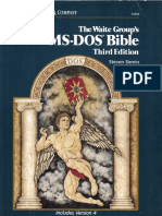 The Waite Group MS-DOS Bible Third Edition 1989 the Waite Group MS-DOS Bible Third Edition 1989