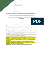 Informe Electro Original