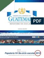 1. Presentación Papelería Fin de Ciclo Escolar 2019