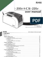 CS 200e&CS 220e Manual