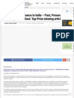 Corporate Governance in India - Past, Present & Future by Sonali Soni