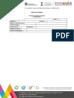 Formato de entrega de evidencias tesci