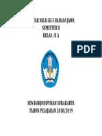 Cover Daftar Nilai Ki-3 Kls 2a