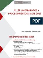 III Taller Siagie 2019 Jul