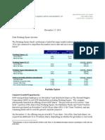 Pershing Q3 2010 Letter