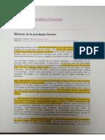 historia de la psicologia forense