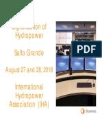 Digitalization of Hydropower