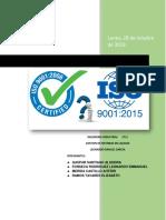 Análisis de La Iso 90012015