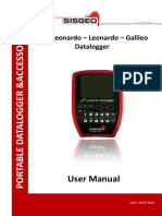 Portable Dataloggers User Manual