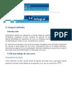 ___ Cálculo Integral - Unidad I - Tema 3 __