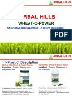 Wheatgrass Technical Catalogue