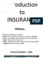 Intro to Insurance