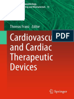 (Studies in Mechanobiology, Tissue Engineering and Biomaterials 15) Thomas Franz (Eds.) - Cardiovascular and Cardiac Therapeutic Devices-Springer-Verlag Berlin Heidelberg (2014)