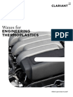 waxes for Engineering  thermoplastics