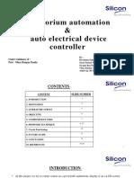Auditorium Automation