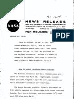 Ionosphere Beacon Explorer Press Kit