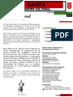 Varios Autores - Gaceta Centro Cultural 36