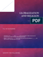 The Globalized World and the Effect to Religion.pptx