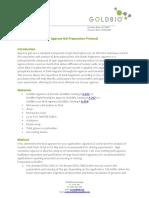 Agarose Gel Preparation Protocol