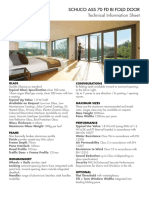 Schuco ASS 70 FD Bi Fold Door - Product Specification Sheet-Jan_18