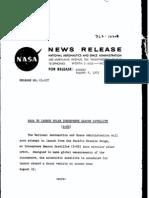Ionosphere Beacon Satellite S-66 Press Kit