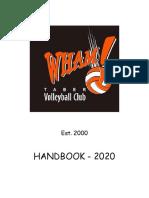 Handbook Wham! 2020
