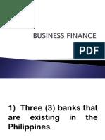 Business Finance Activity #1